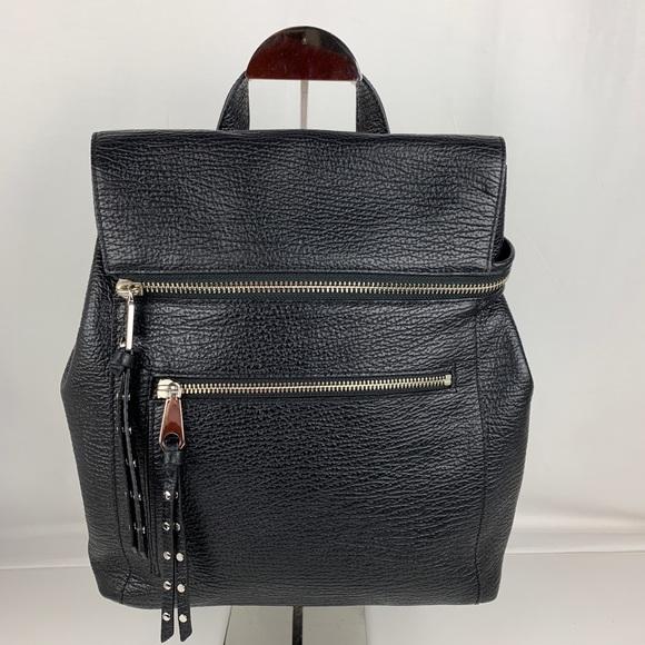435a378f0c New Rebecca Minkoff Jane Black Leather Backpack